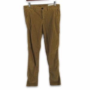 Ikks Flat Front Corduroy Chino Pants